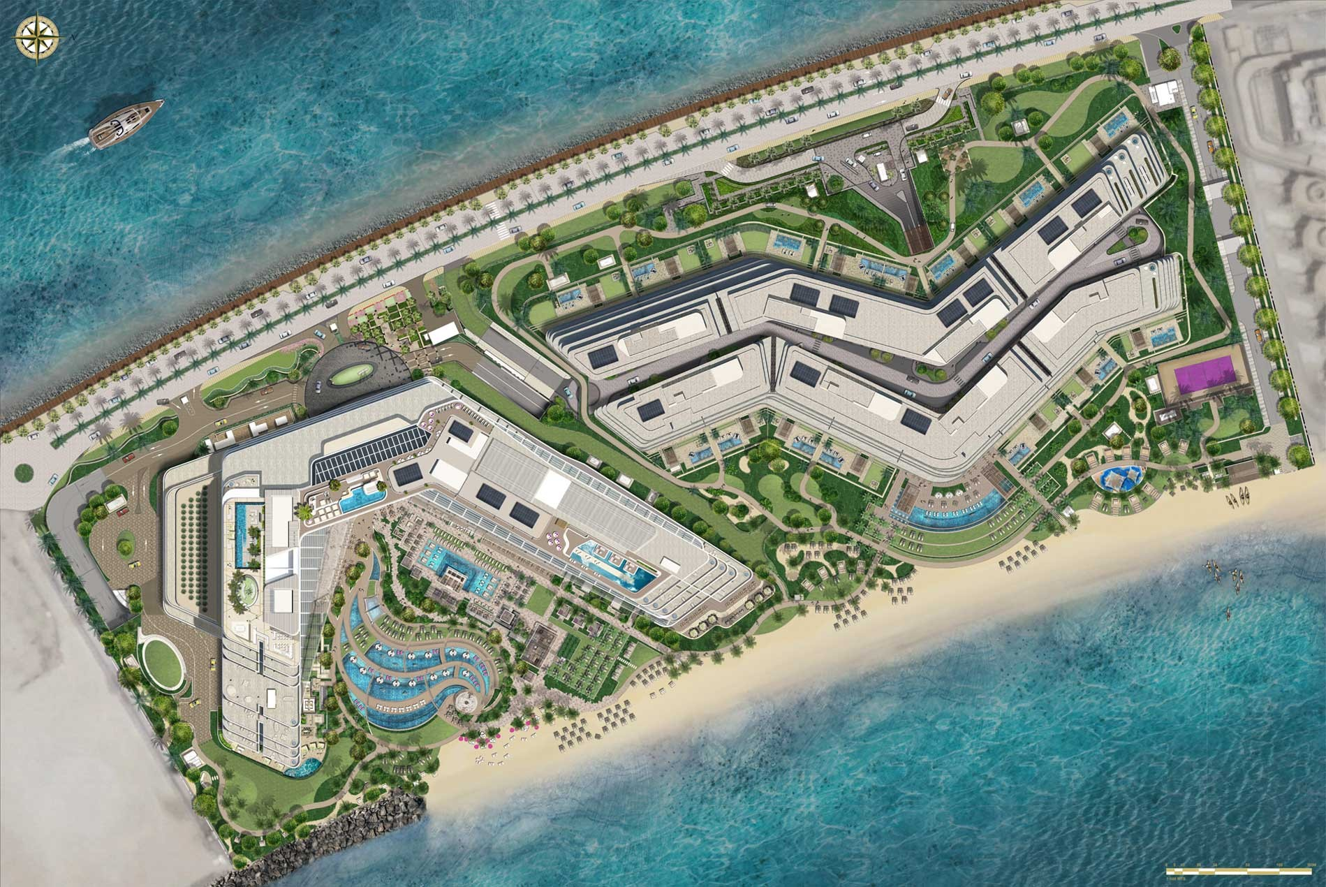 W-Hotel and Residences Palm Jumeirah